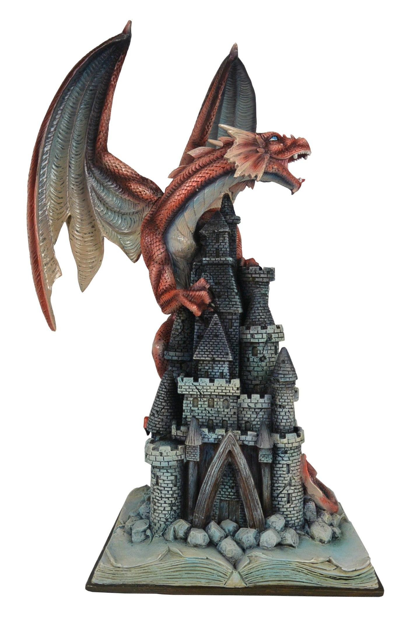 Statuette Dragon Gawenn (H52 x L35cm)
