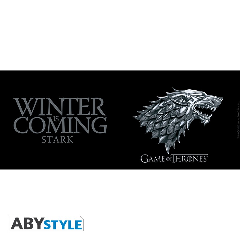 game of thrones mug 460 ml stark winter is coming. Black Bedroom Furniture Sets. Home Design Ideas