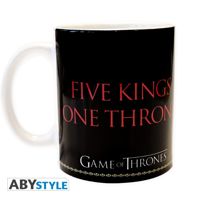 game of thrones mug 320 ml sigles noir d co. Black Bedroom Furniture Sets. Home Design Ideas