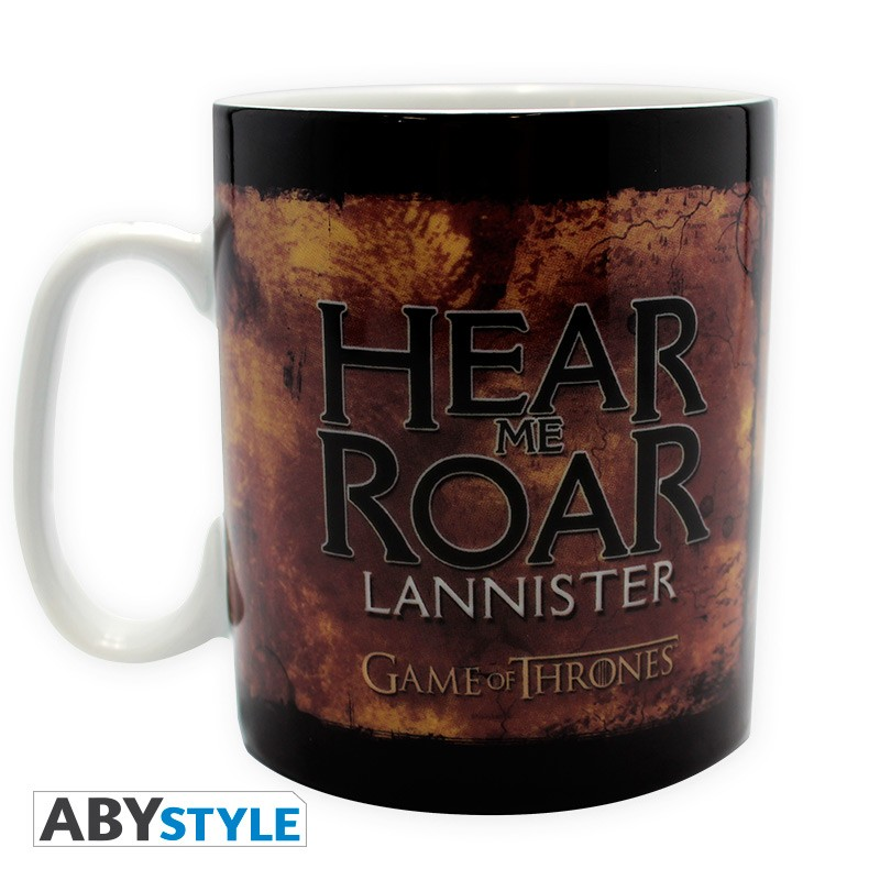 game of thrones mug 460 ml lannister d co. Black Bedroom Furniture Sets. Home Design Ideas