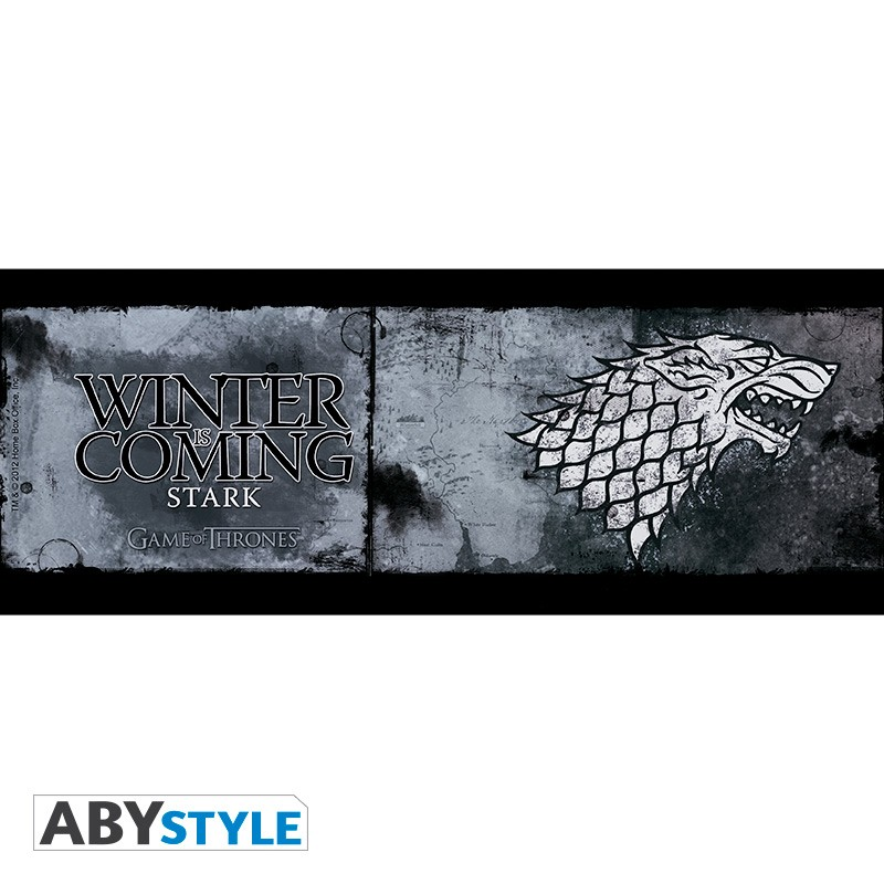 game of thrones mug 460 ml stark d co. Black Bedroom Furniture Sets. Home Design Ideas