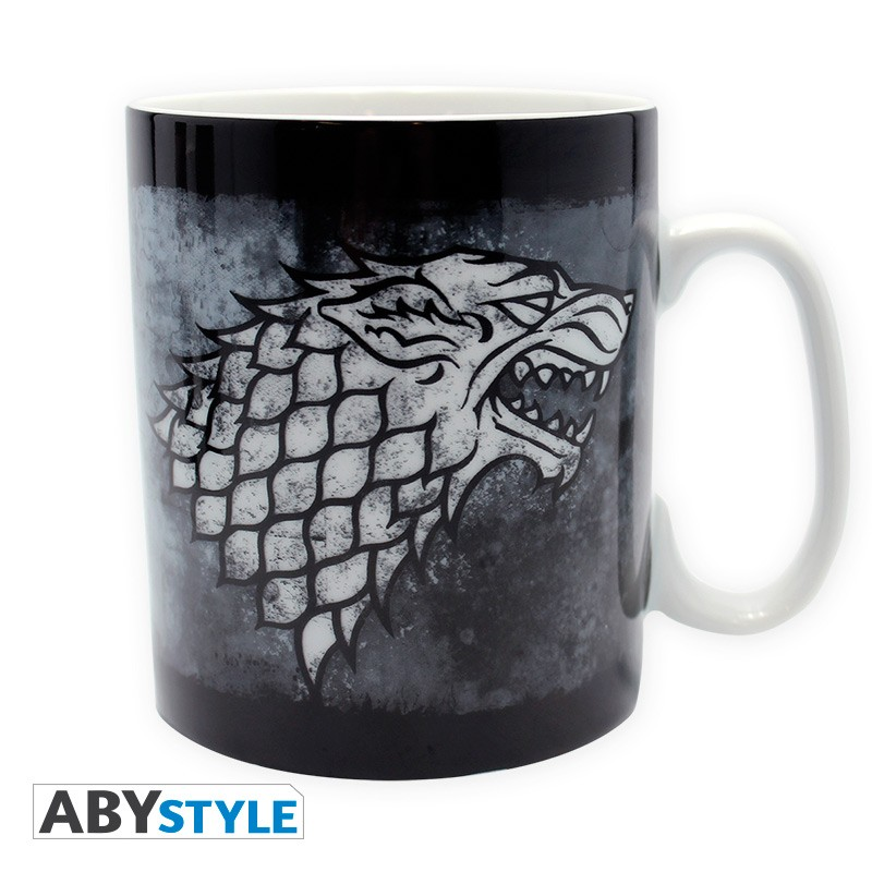 GAME OF THRONES - Mug - 460 ml - Stark