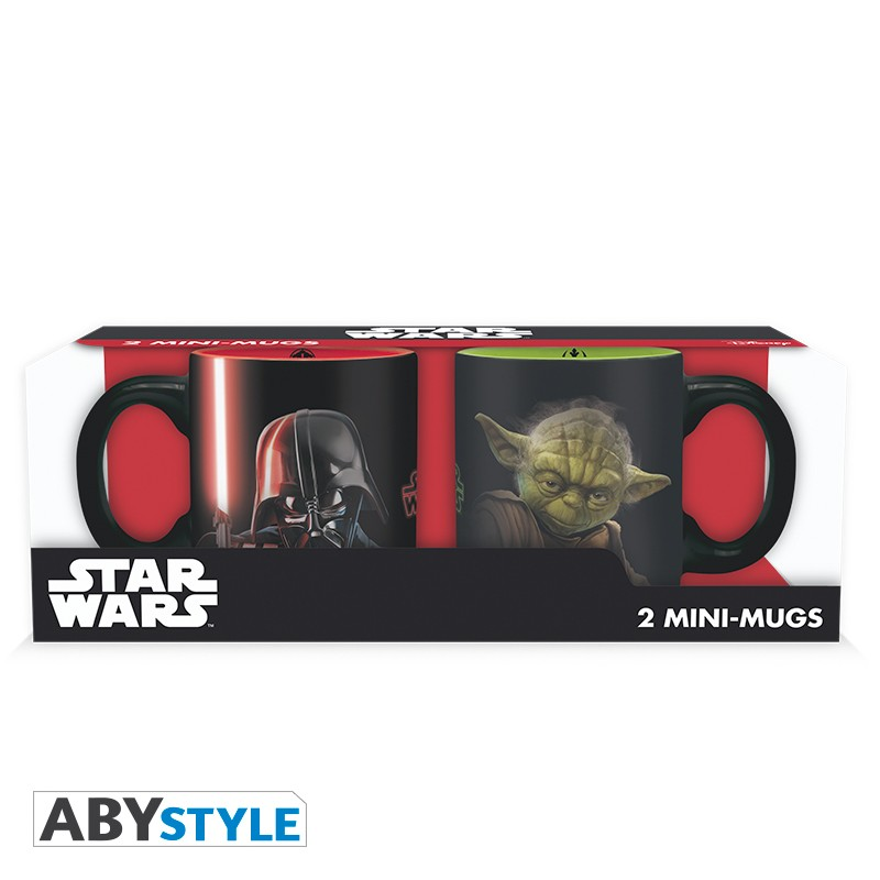 star-wars-set-2-mini-mugs-110-ml-vador-vs-yoda-x2