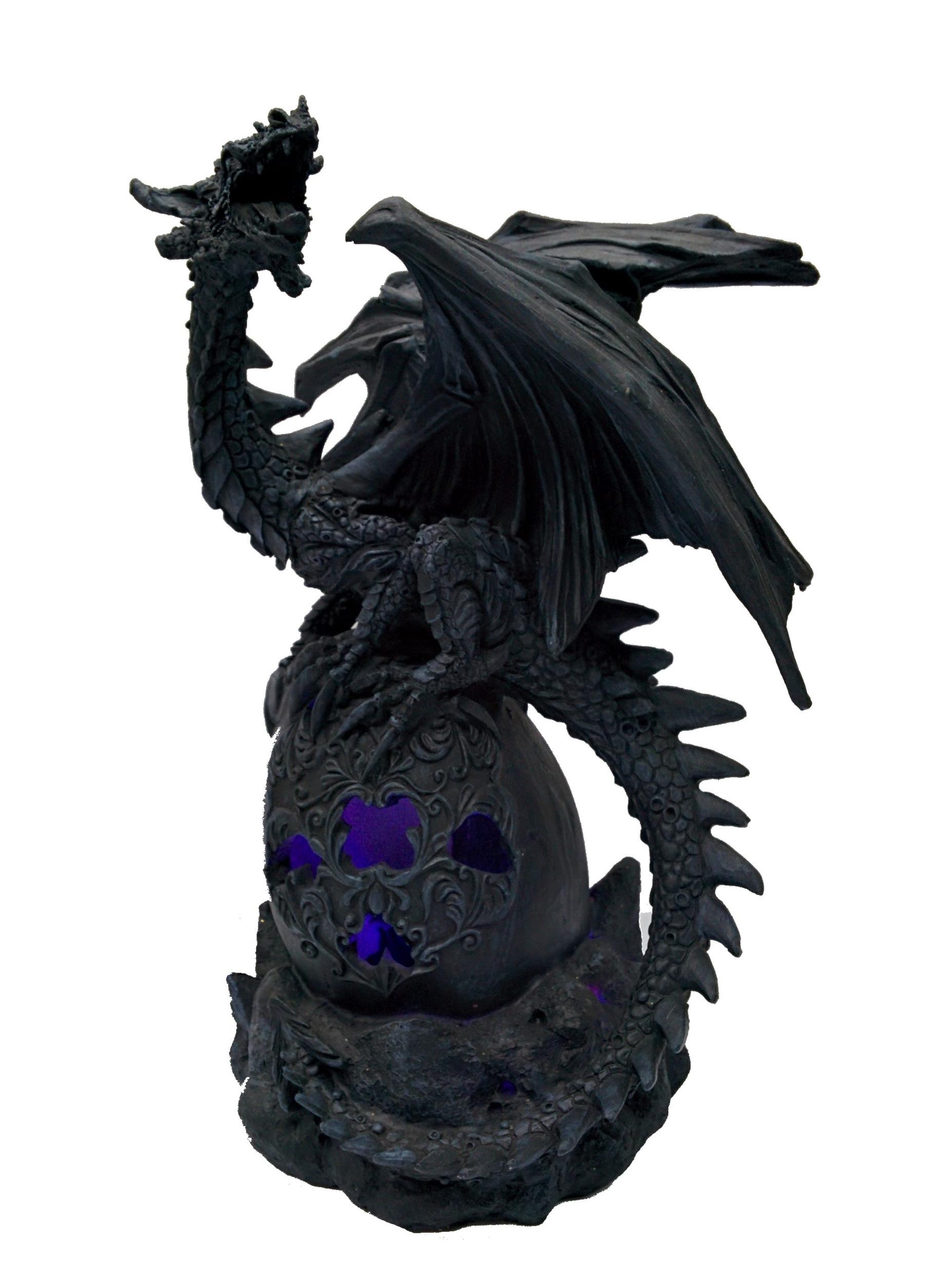 Statuette Dragon Cérédic (H25 x L16cm)