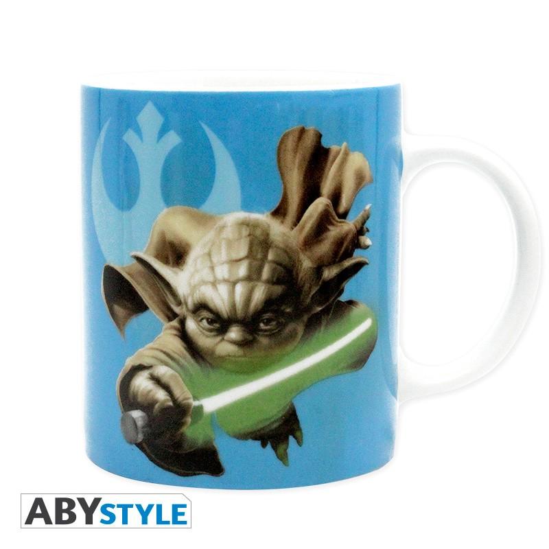 deco accessoires mugs verres star wars mug  ml yoda rd avec boite x