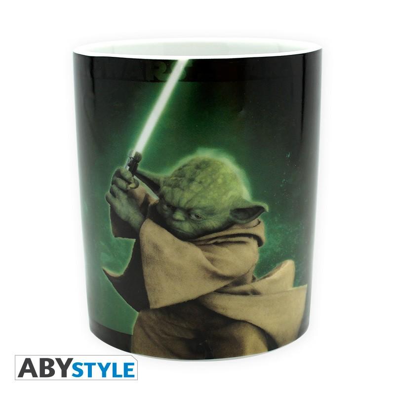 vaisselle accessoires mugs star wars mug  ml yoda avec boite x