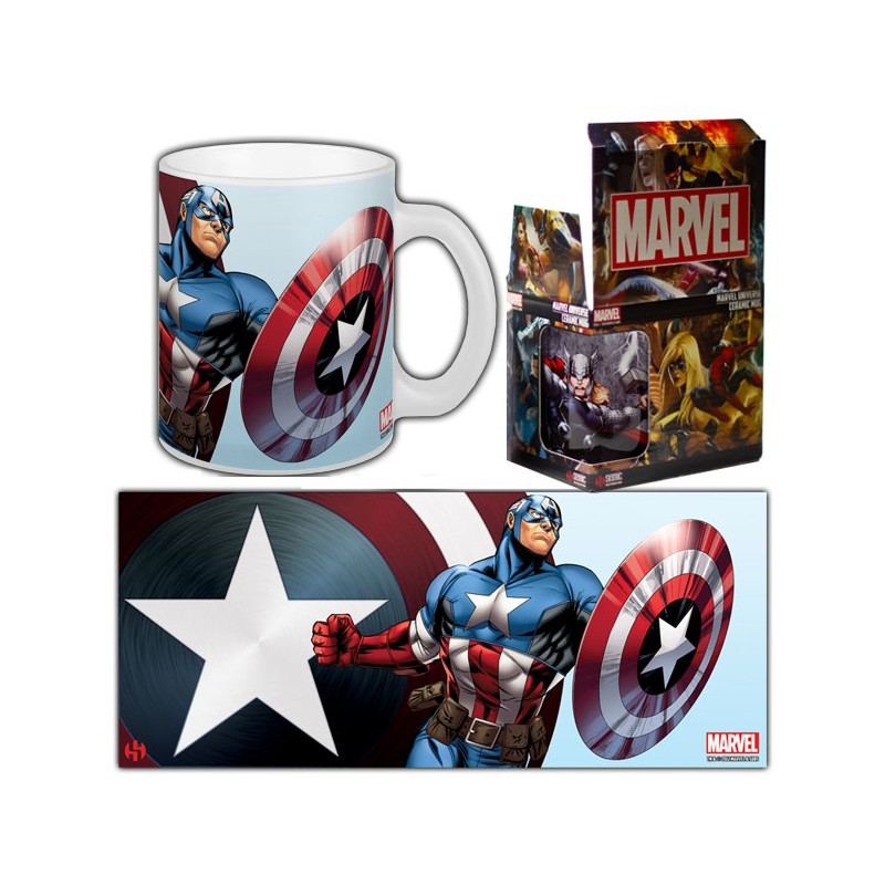 MARVEL AVENGERS - Mug Avengers Captain America - 320ml