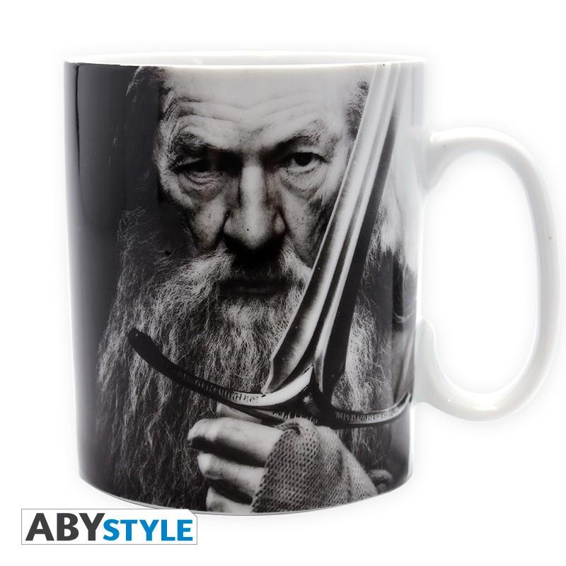 THE HOBBIT - Mug - 460 ml - Gandalf & Epée