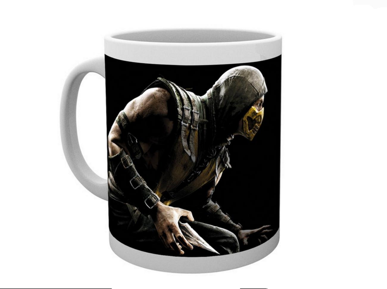 MORTAL KOMBAT - Mug Scorpion - 320ml