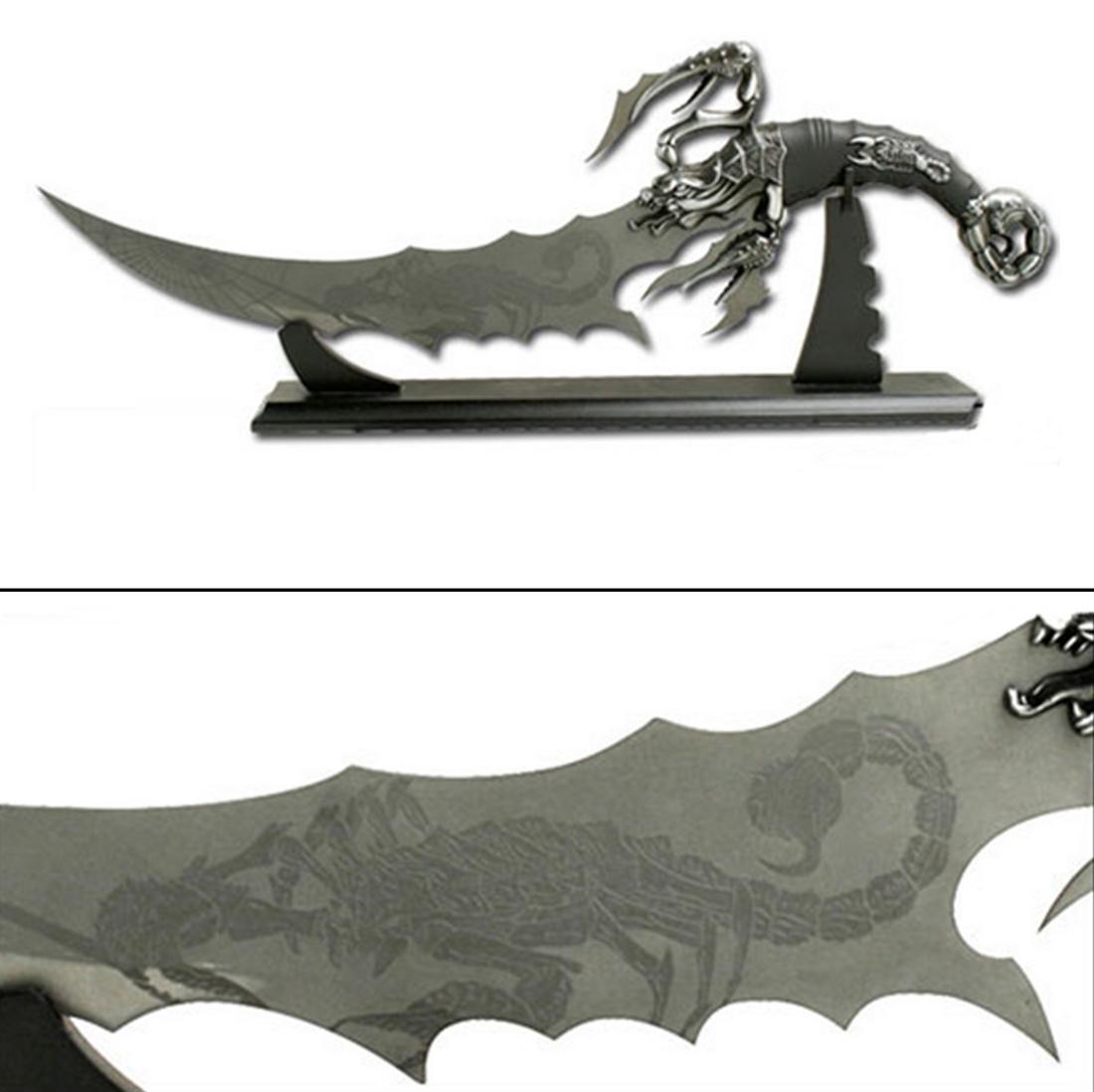 Couteau Fantastique Scorpion (Grand Modèle)