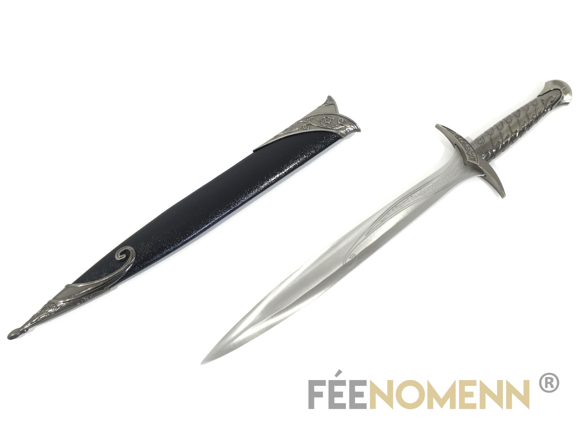 LE SEIGNEUR DES ANNEAUX - Réplique Épée FRODON/BILBON - DARD (long black édition)