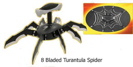 Tarentules Araignée 8 lames (avec poignée)