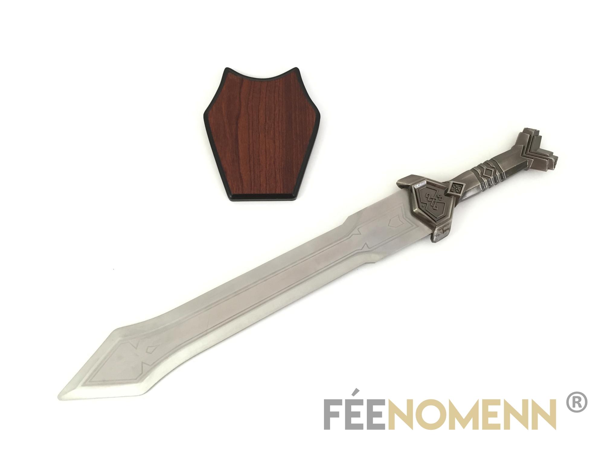 LE HOBBIT - THORIN - Réplique Épée NAINE
