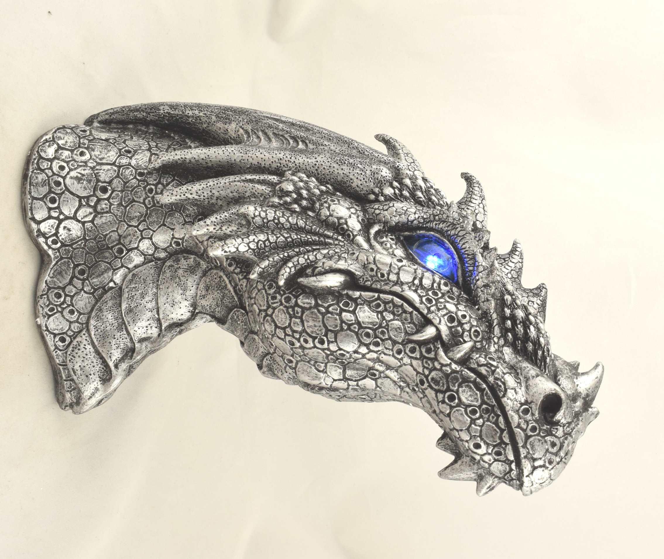 Lampe Dragon en Applique Murale (H19 x L26cm)