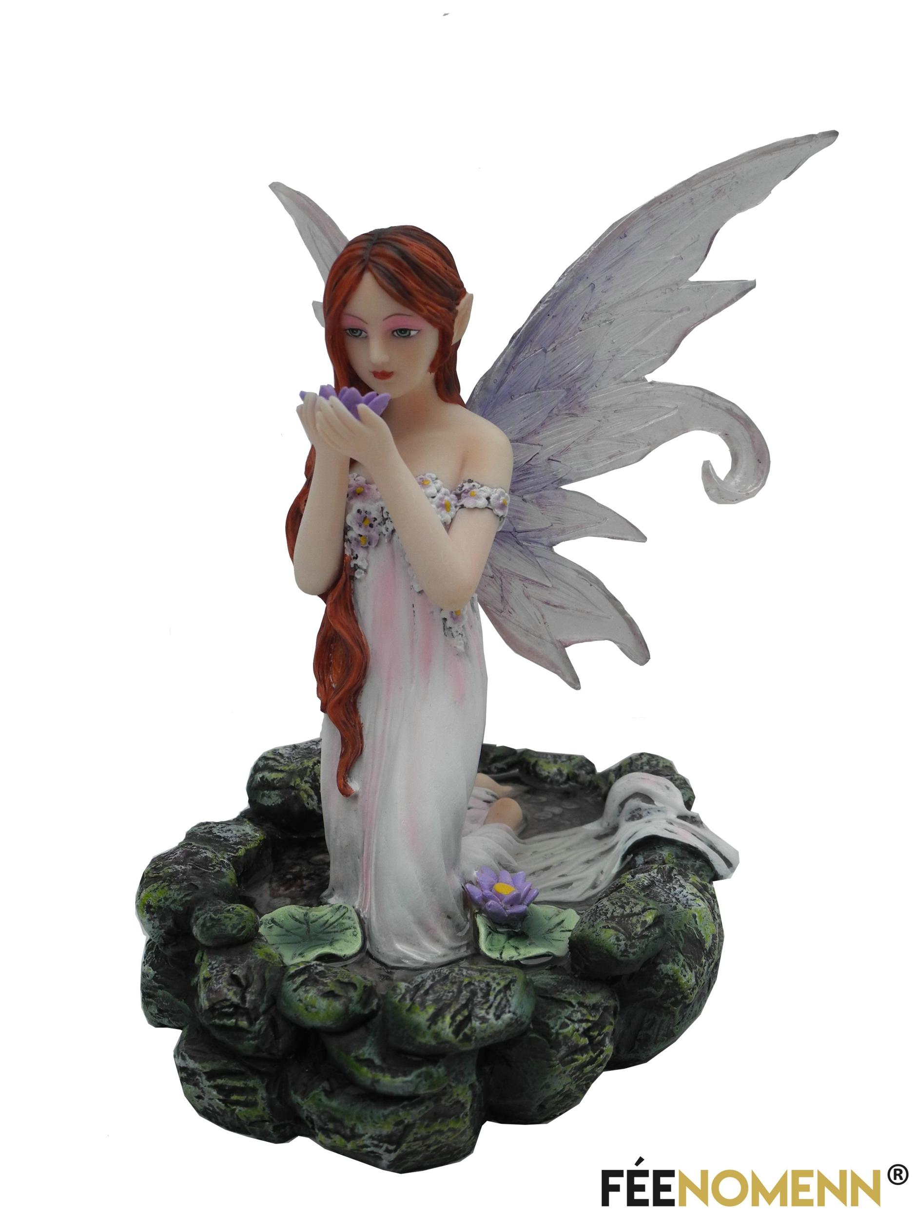 Figurine Fée Téloïse (H16 x L14cm)