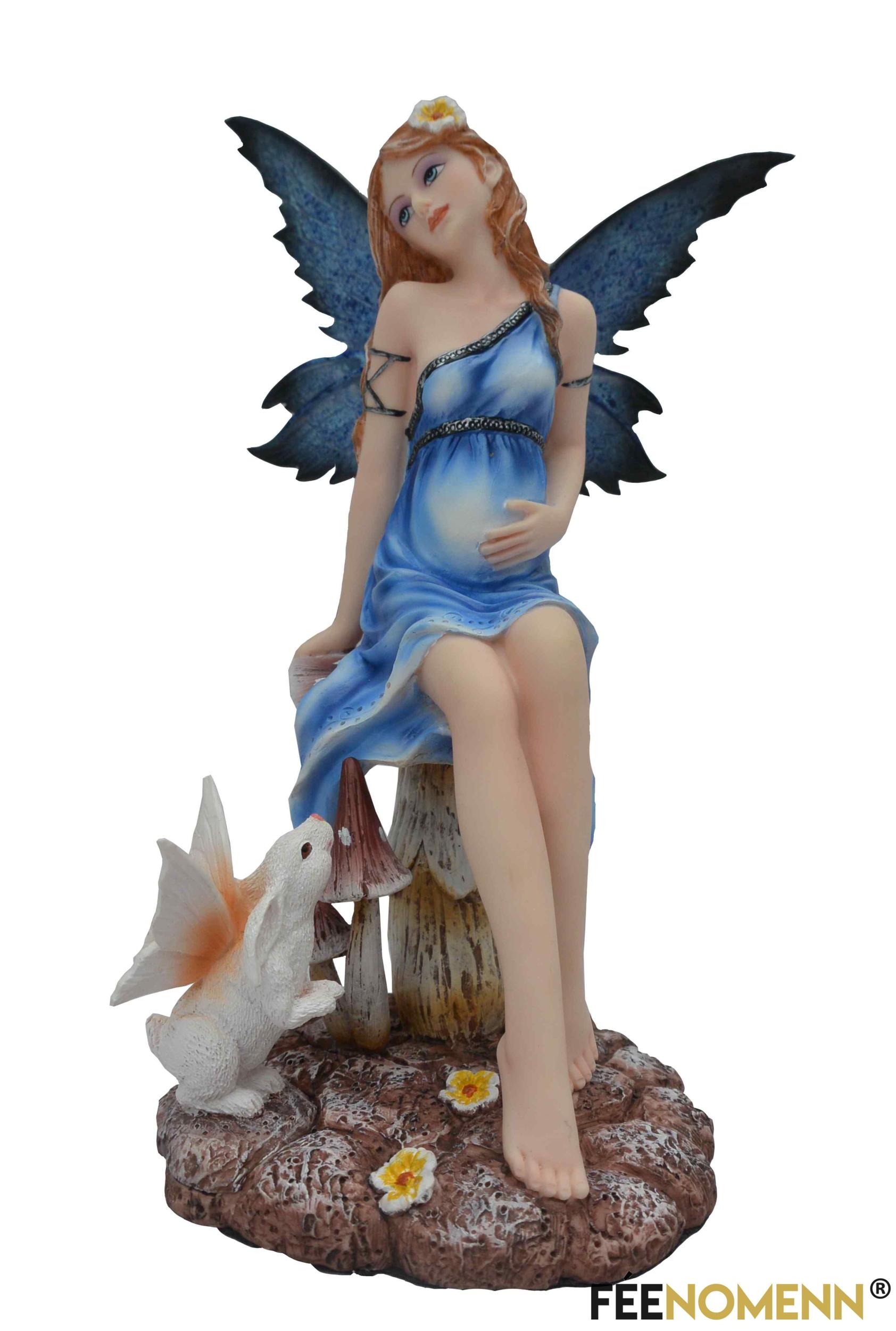 Figurine Fée Fergell (H21 x L13cm)
