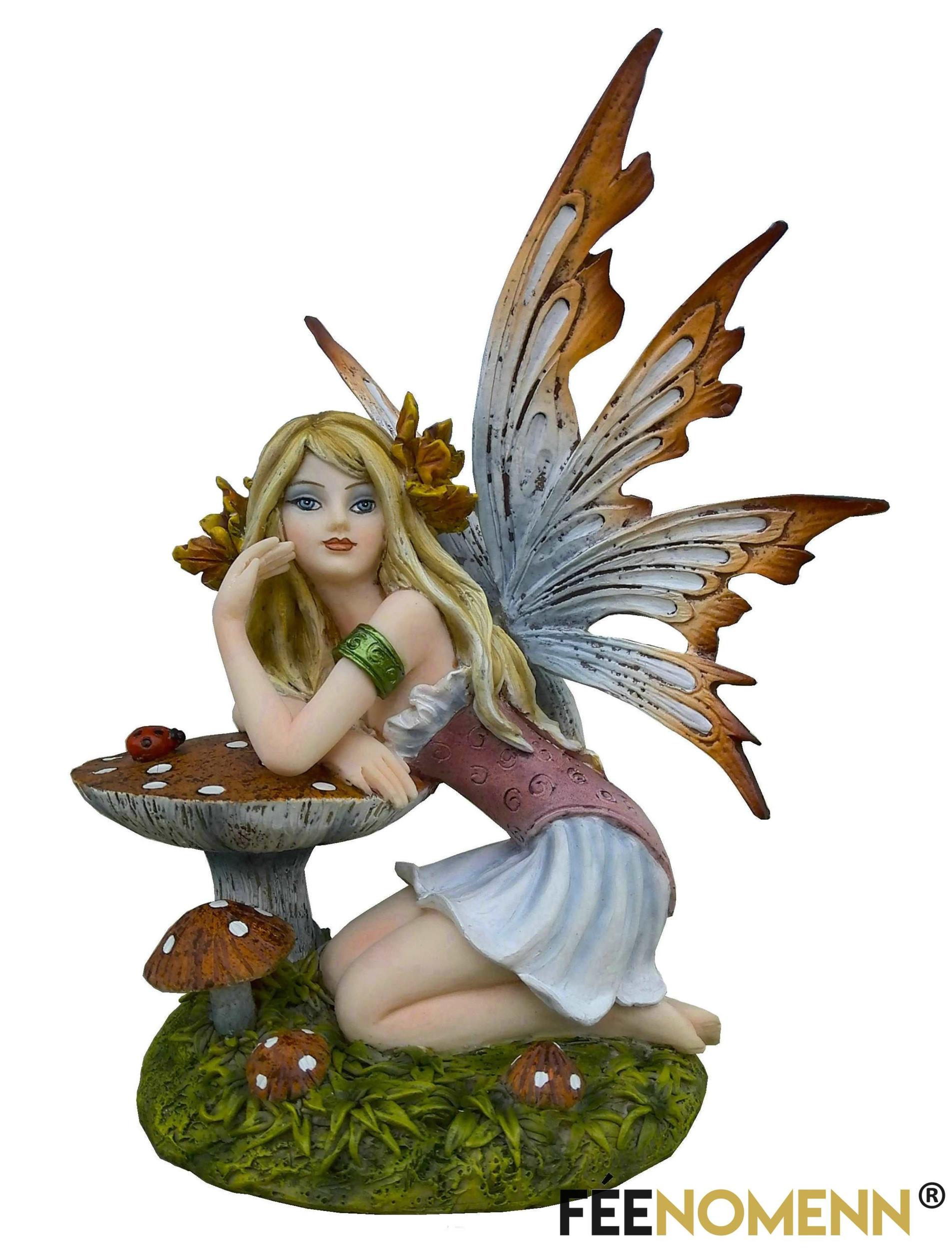 Figurine Fée Lyna (H16 x L12cm)