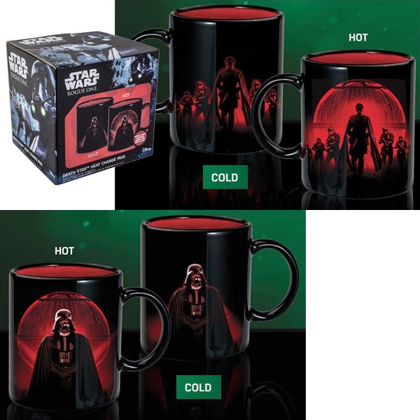 STAR WARS ROGUE ONE - Mug Thermoréactif 320ml - Dark Vador