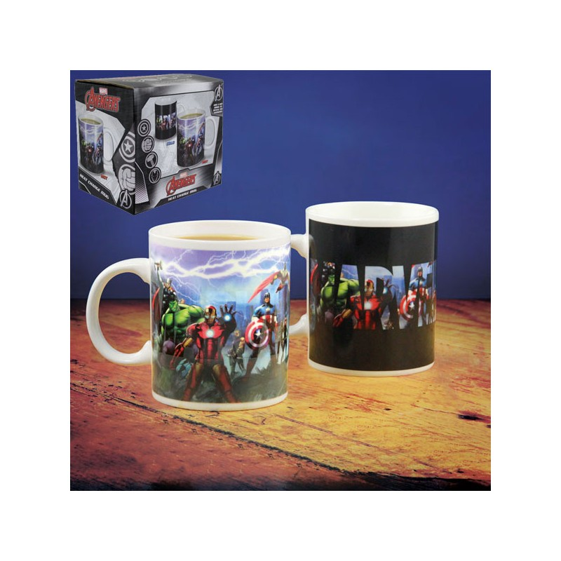MARVEL - Mug Thermoréactif - 320ml - Equipe Avengers