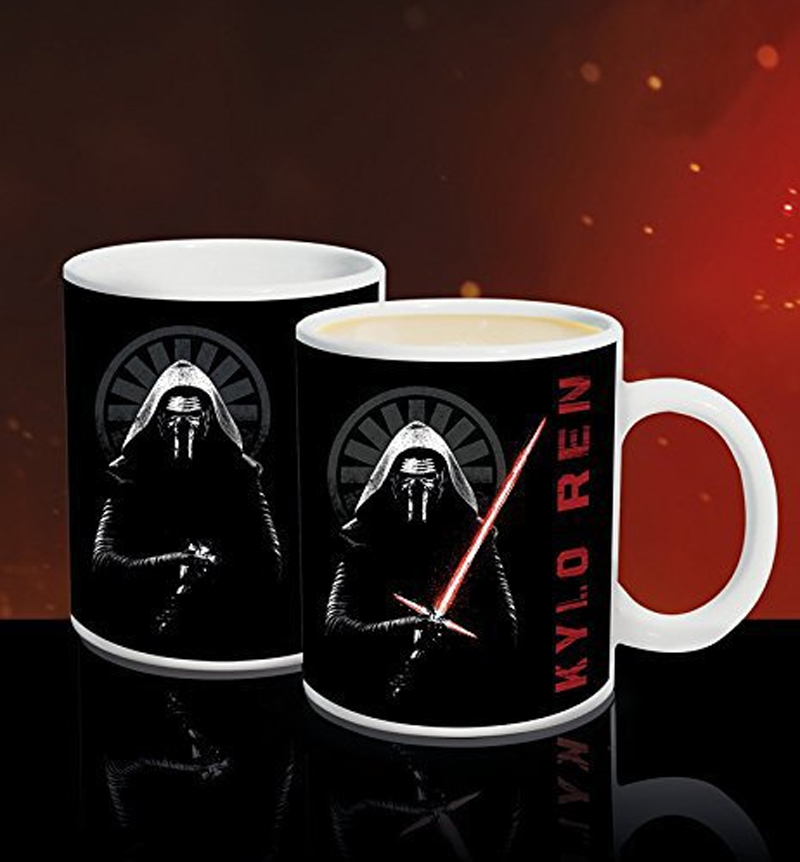 STAR WARS - Mug Thermoréactif 320 ml - Kylo Ren