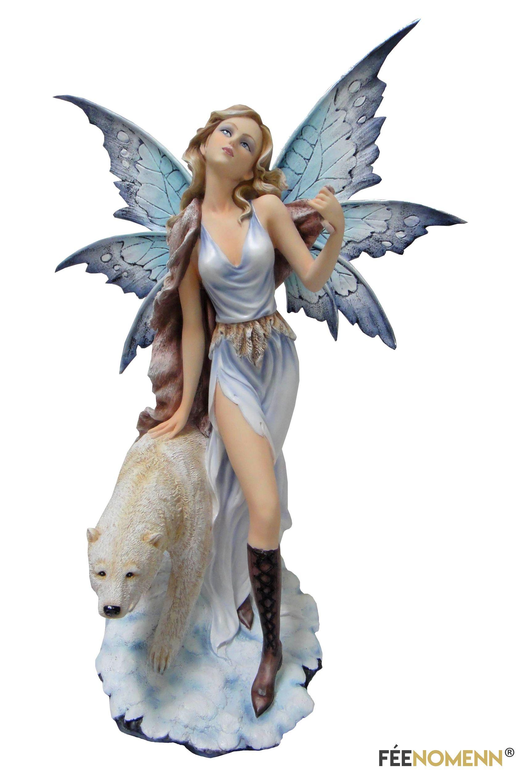 Statuette Fée Adrièle (H60 x L30cm)