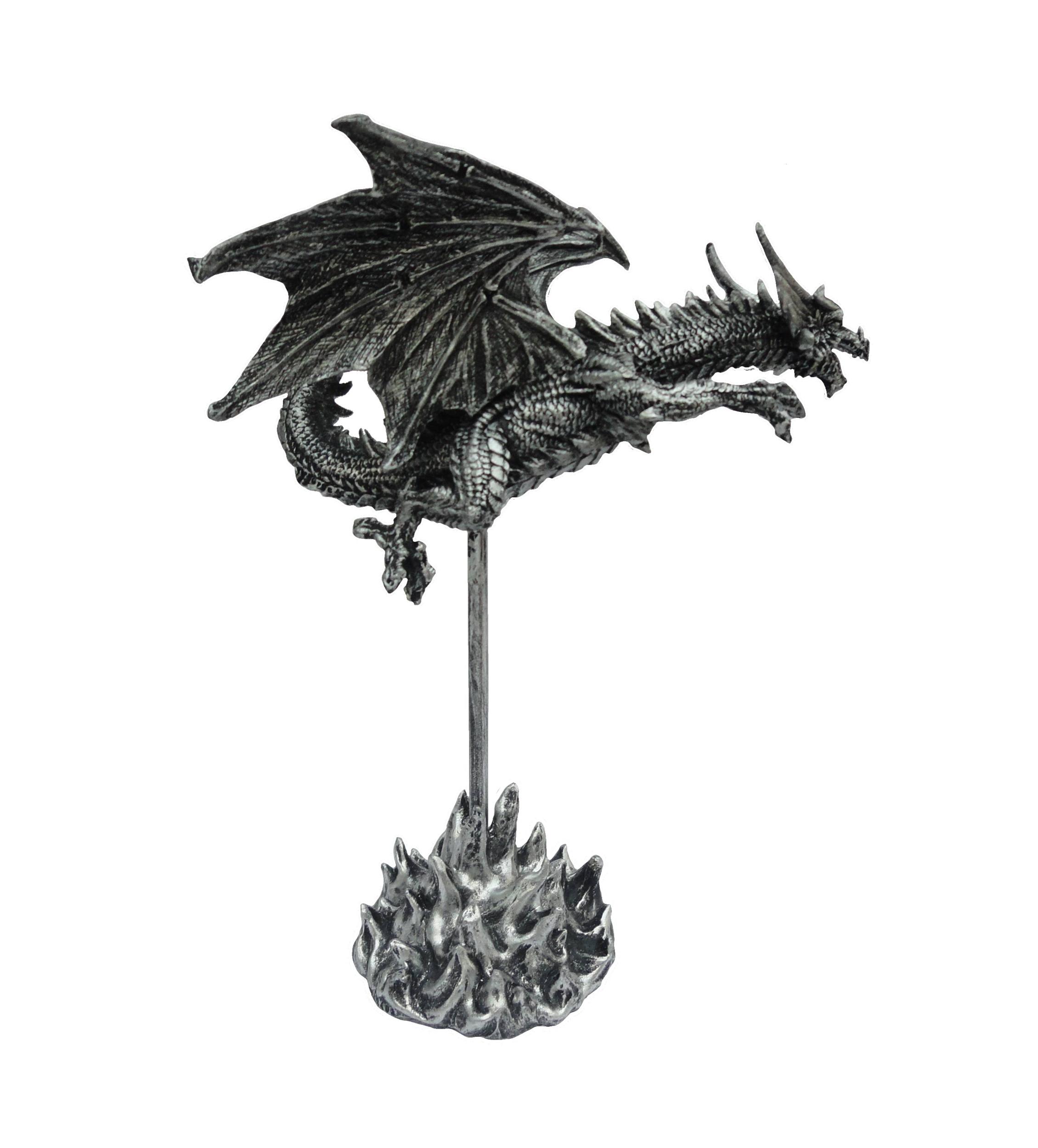 Figurine Dragon Volant (H25 x L19cm)