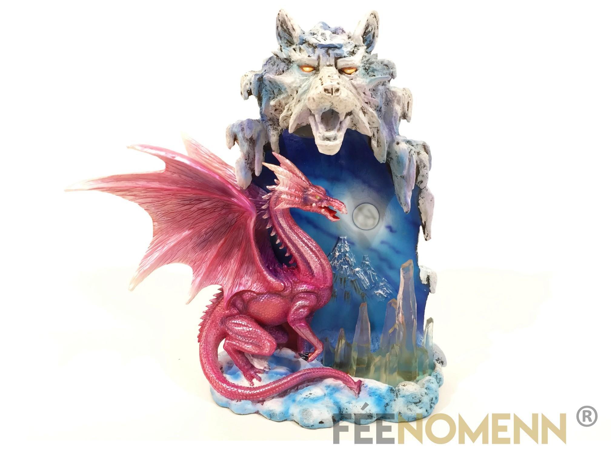 Lampe Dragon Foalan (H27 x L25cm)