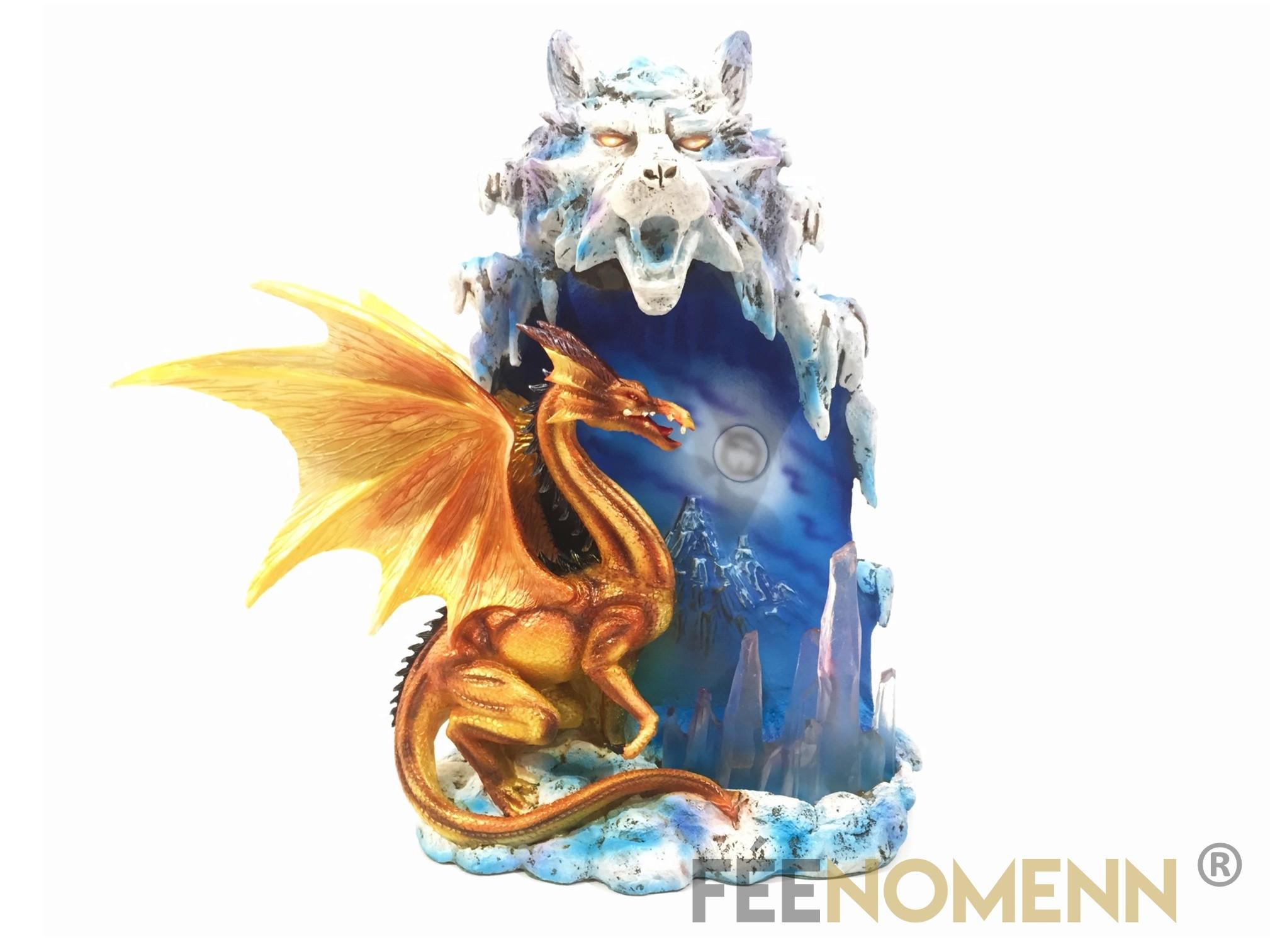 Lampe Dragon Cathaïr (H27 x L25cm)