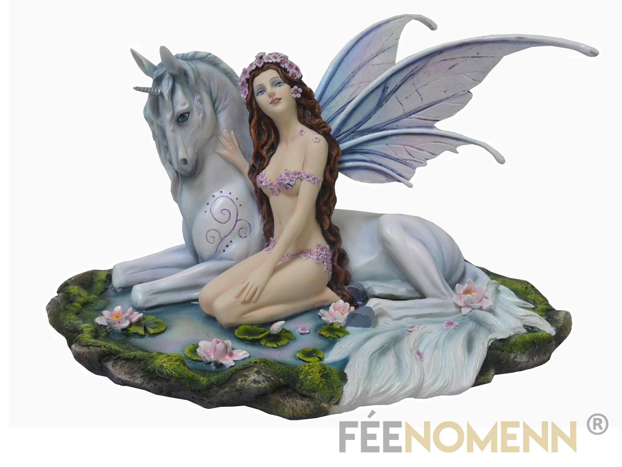 Statuette Fée Aëla (H26 x L35cm)