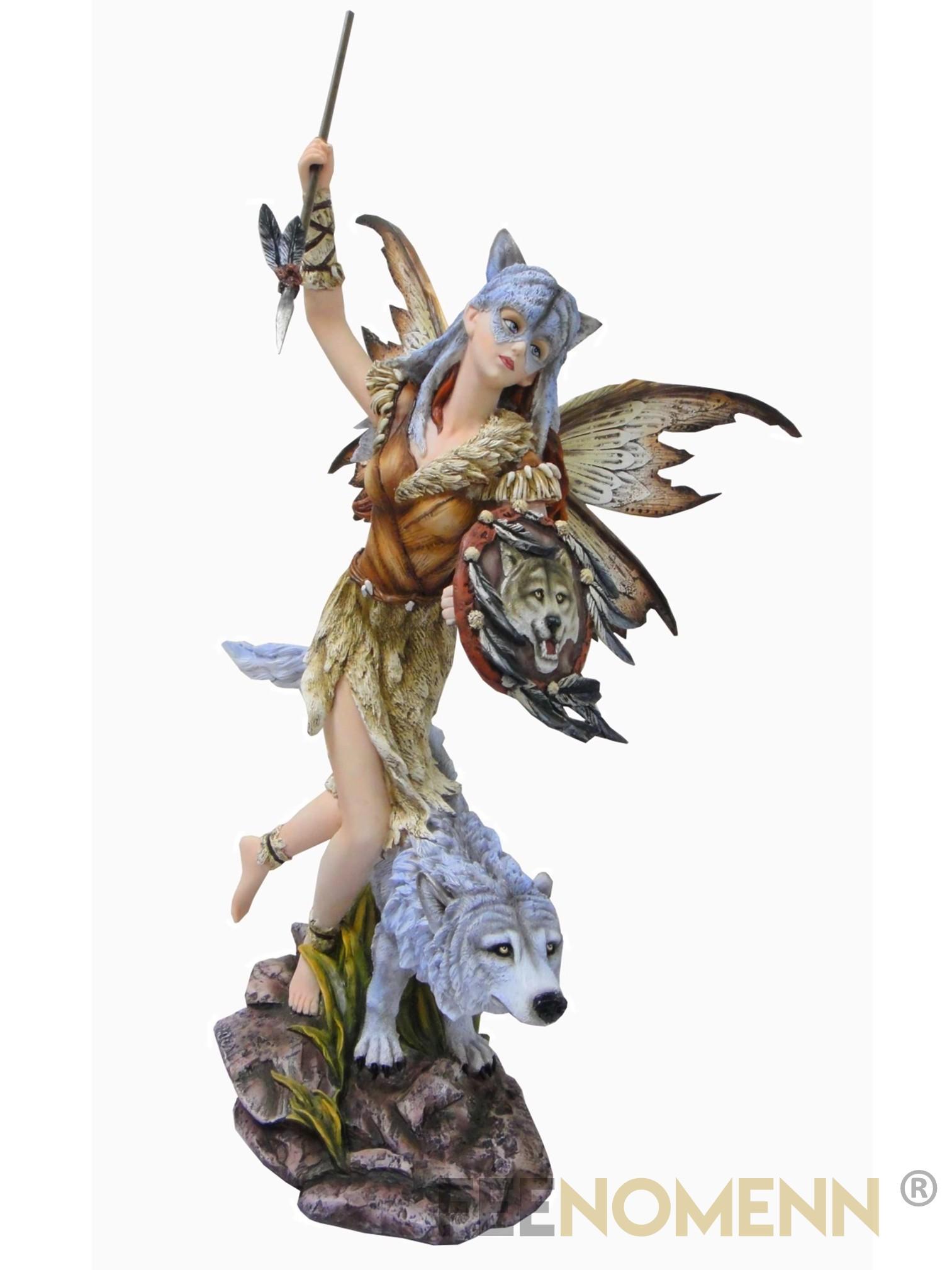 Statuette Fée Grizéla (H66 x L41cm)