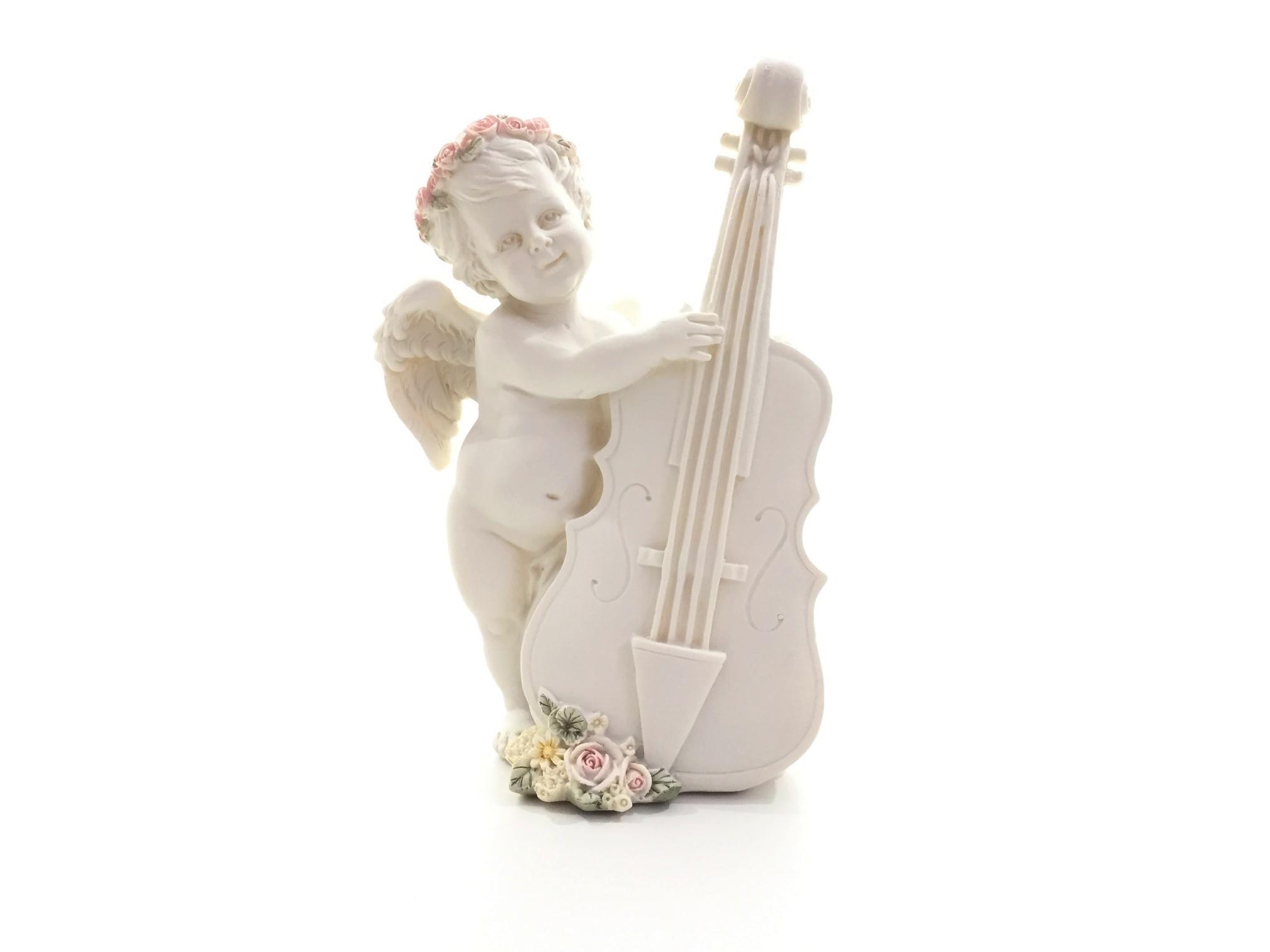 Figurine Ange Musicien Violoncelle