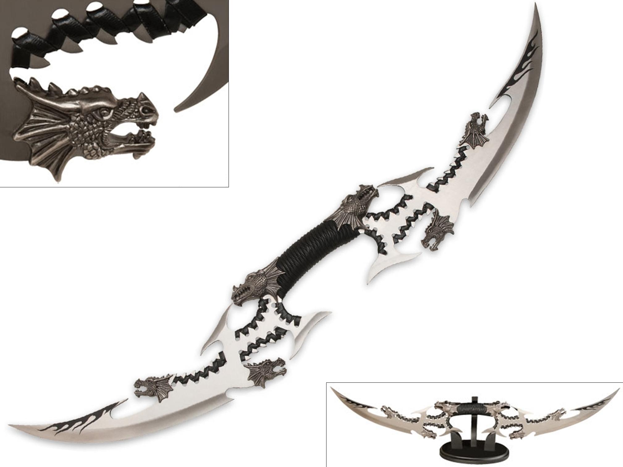 Dague Dragon Double Lame