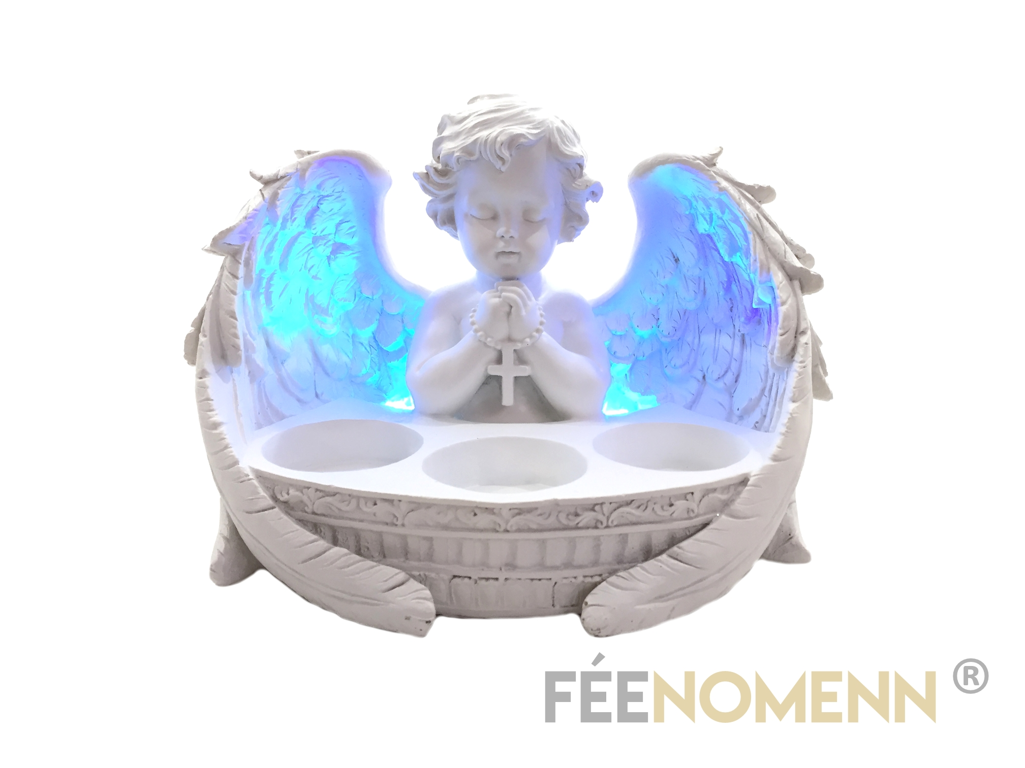 Figurine Ange Prieur Lumineux