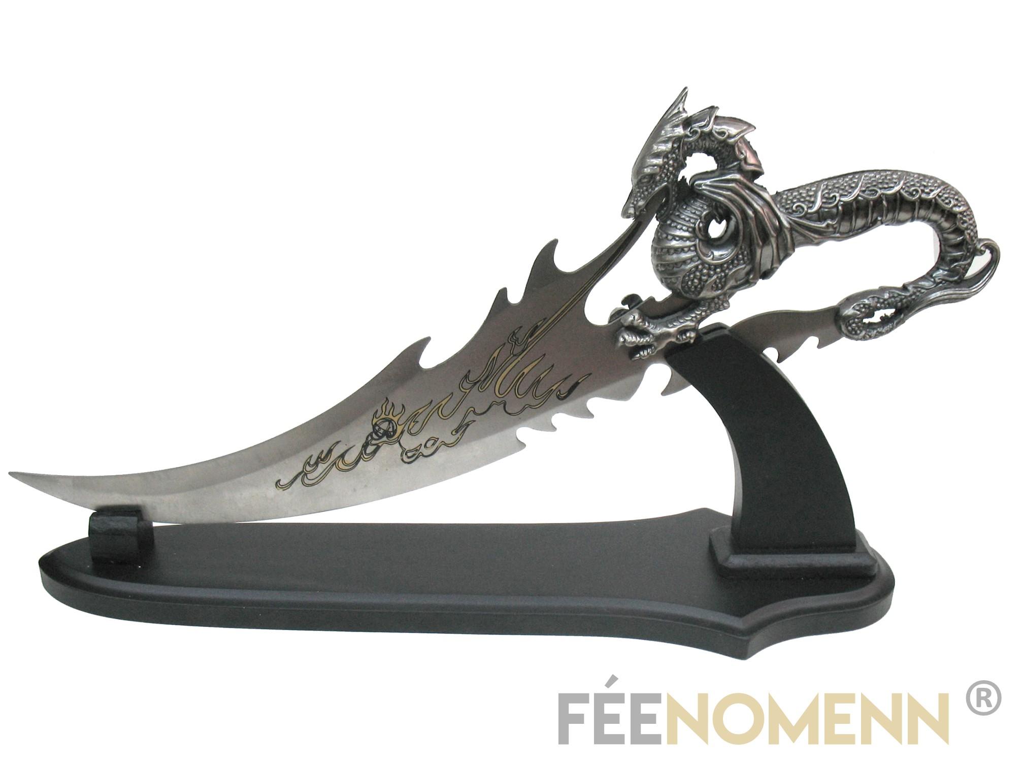 Couteau Fantastique Dragon (grand modèle)