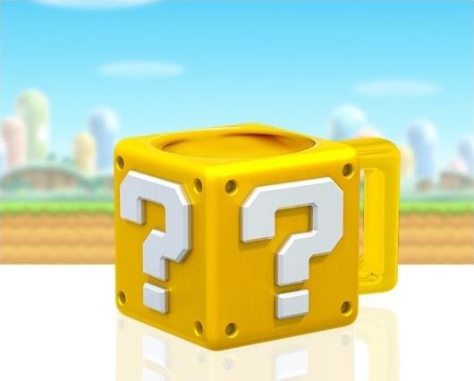 NINTENDO - Mug 3D en Forme de Question Block - 395ml