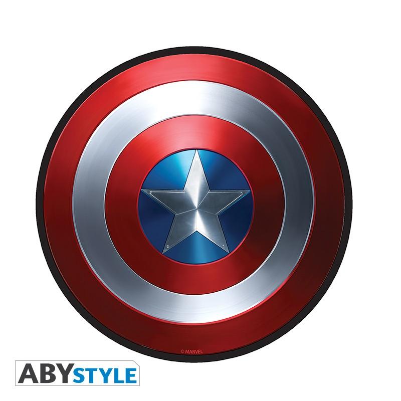 Marvel tapis de souris bouclier captain america en - Bouclier capitaine america ...