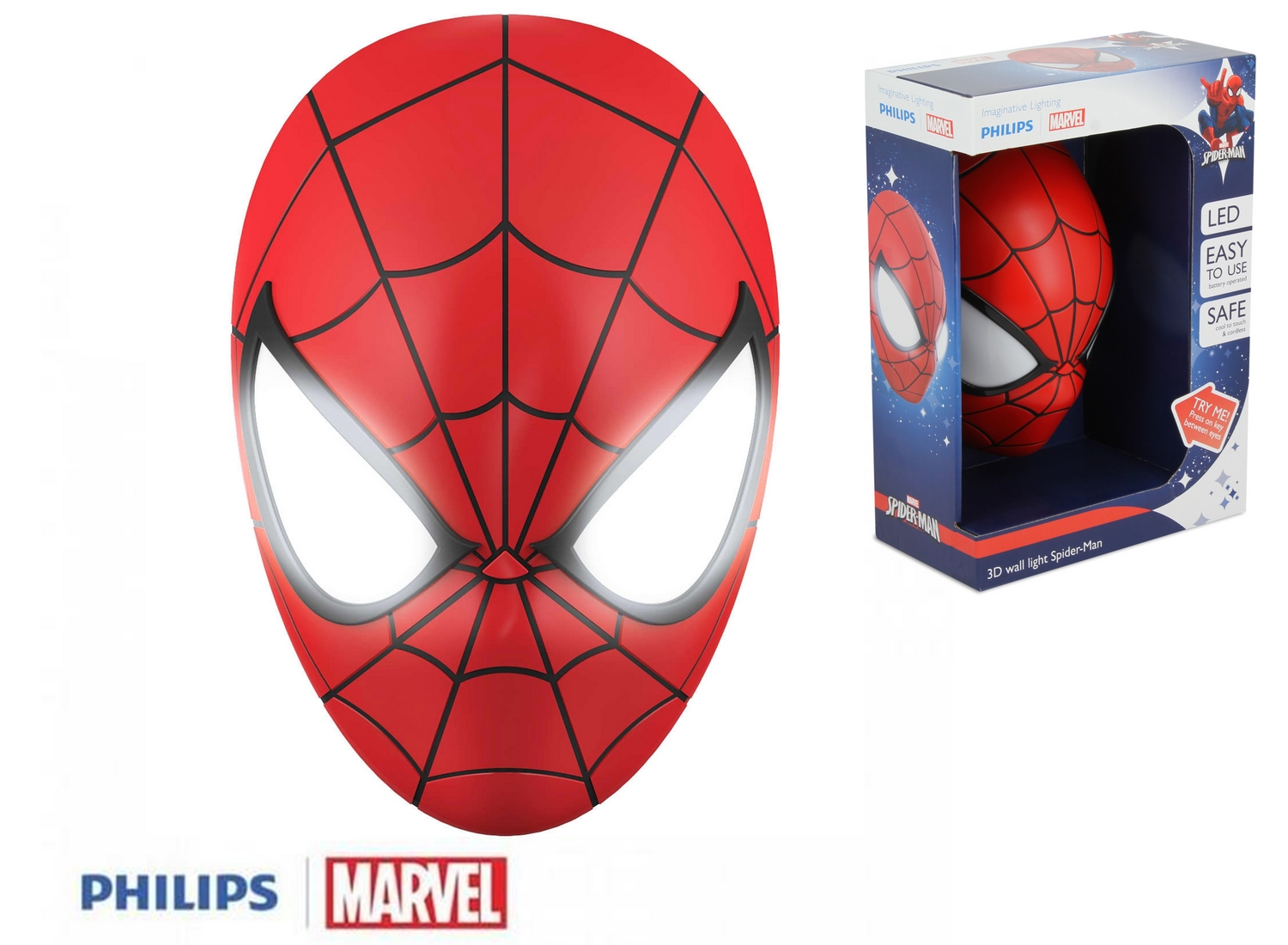 MARVEL - Applique Murale 3D Spider-Man