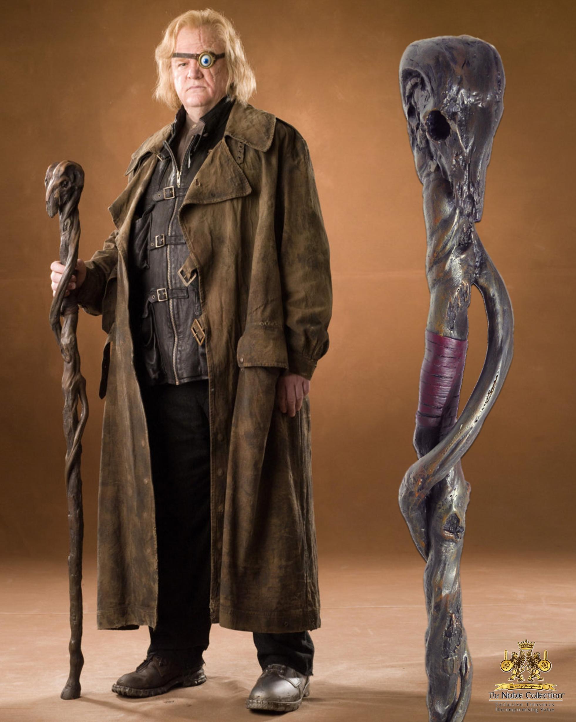 HARRY POTTER - Réplique Bâton 145cm - ALASTOR MAUGREY dit FOL OEIL