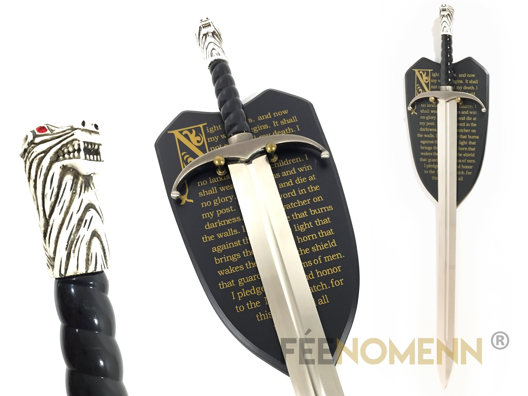 GAME OF THRONES - Réplique Épée JON SNOW - Longclaw (Édition Garde de Nuit)