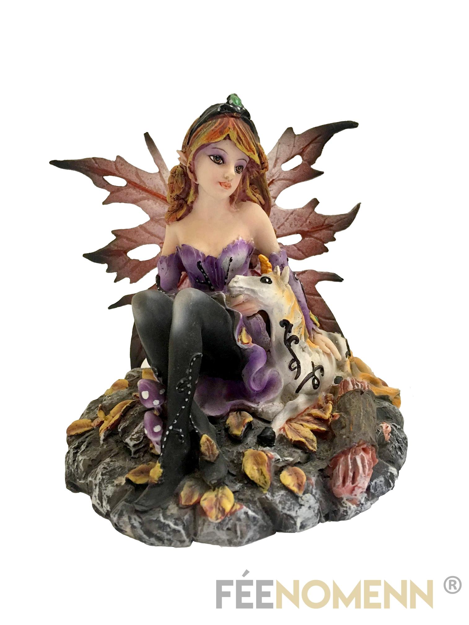 Figurine Fée Melyonen (H11 x L10cm)