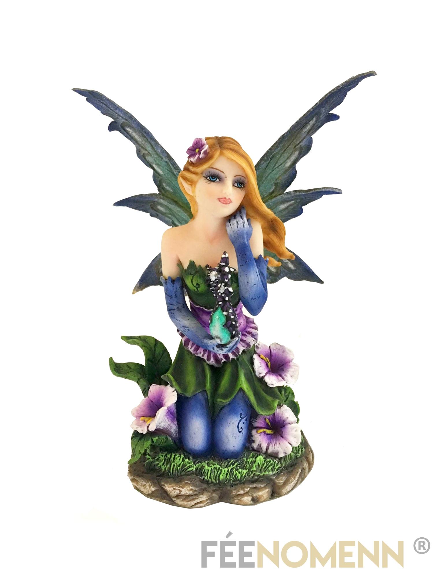 Figurine Fée Lothara (H14 x L10cm)