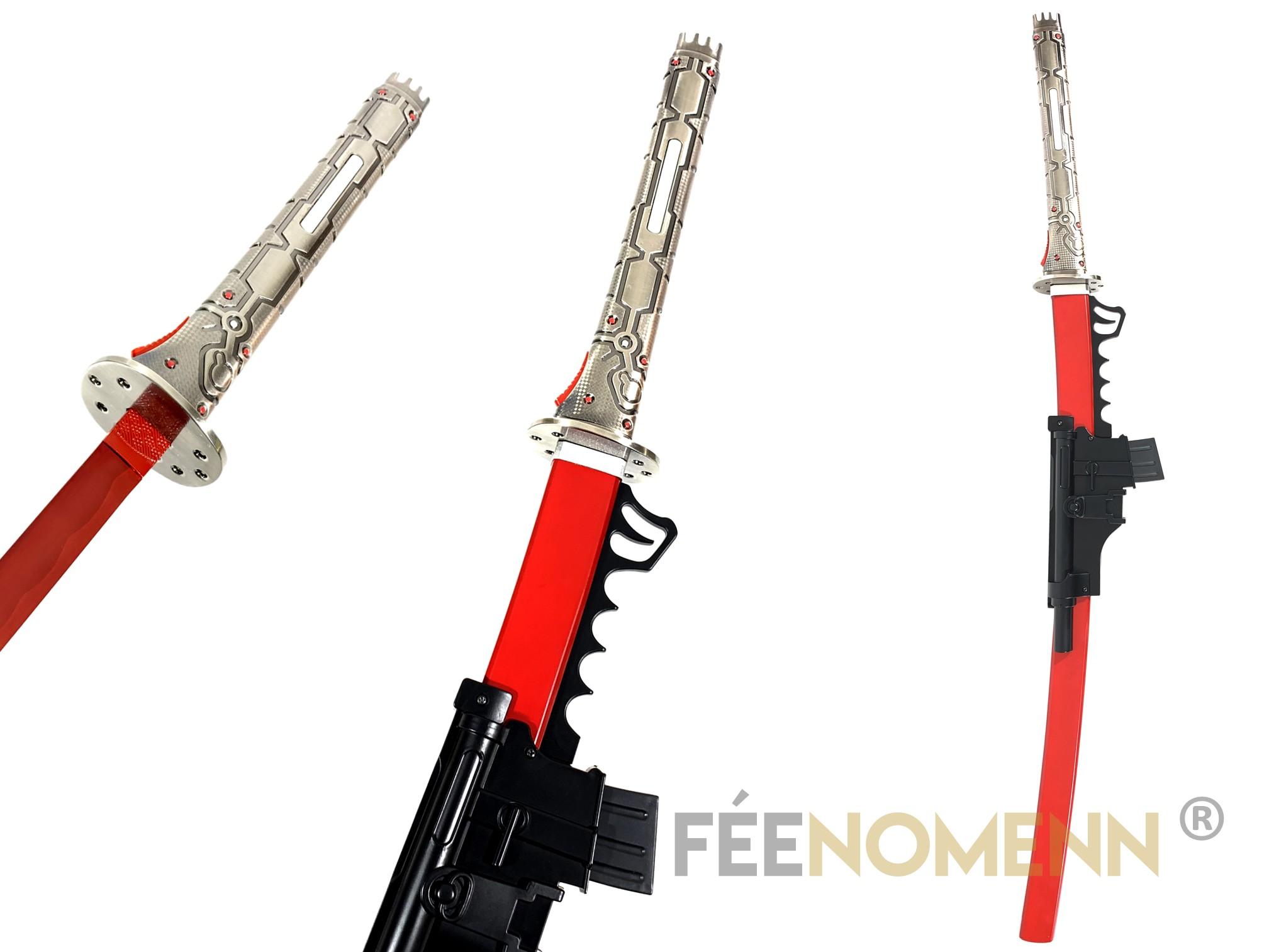 METAL GEAR RISING - Réplique Épée SAMUEL (Muramasa)