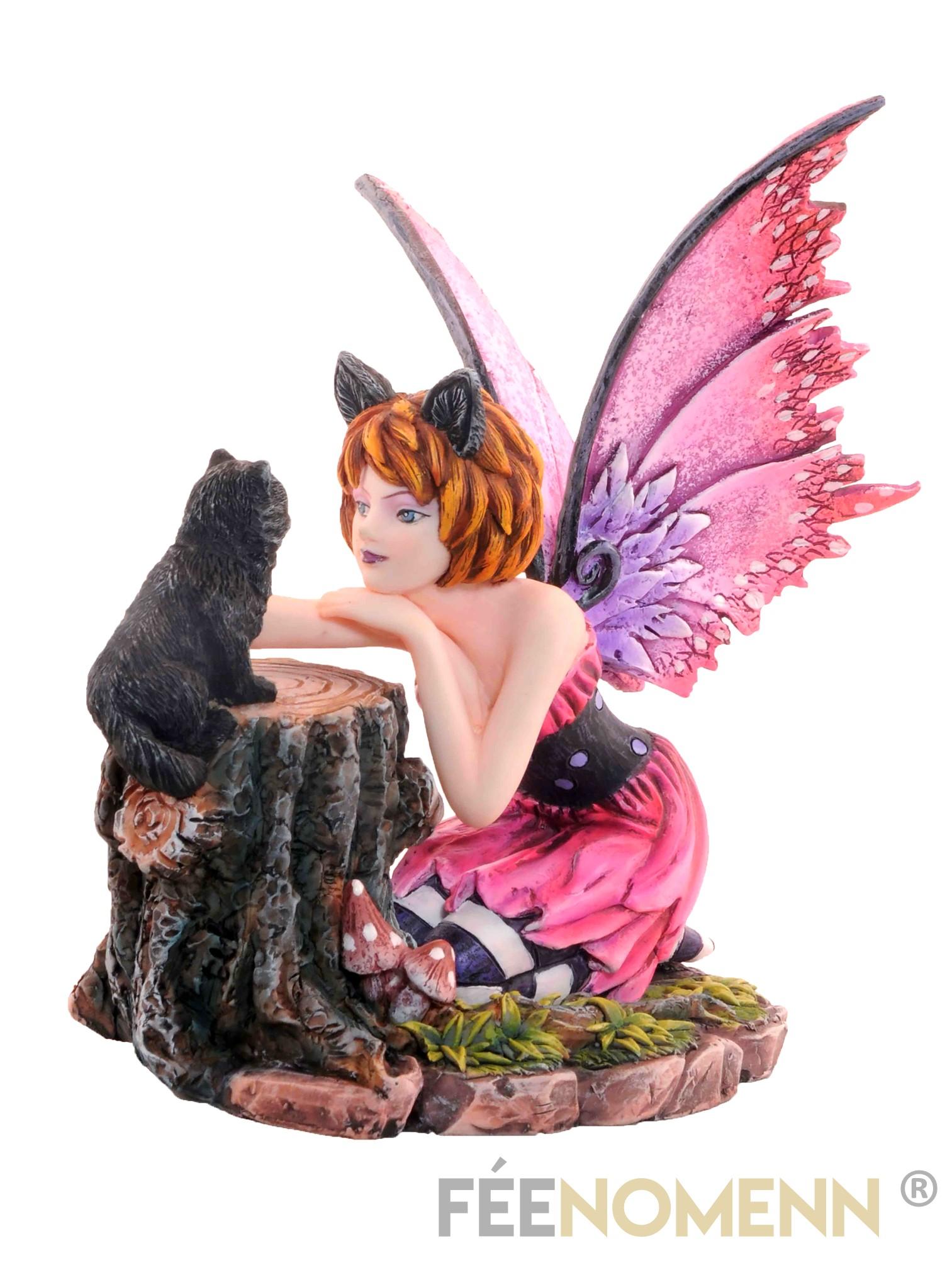 Statuette Fée Katia (H15 x L14cm)