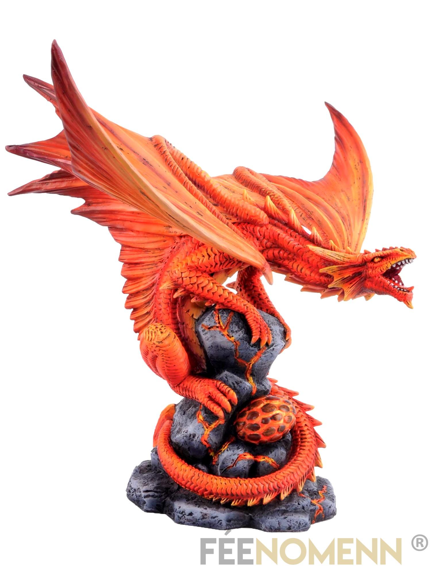 Statuette Dragon Aéron (H30 x L24cm)