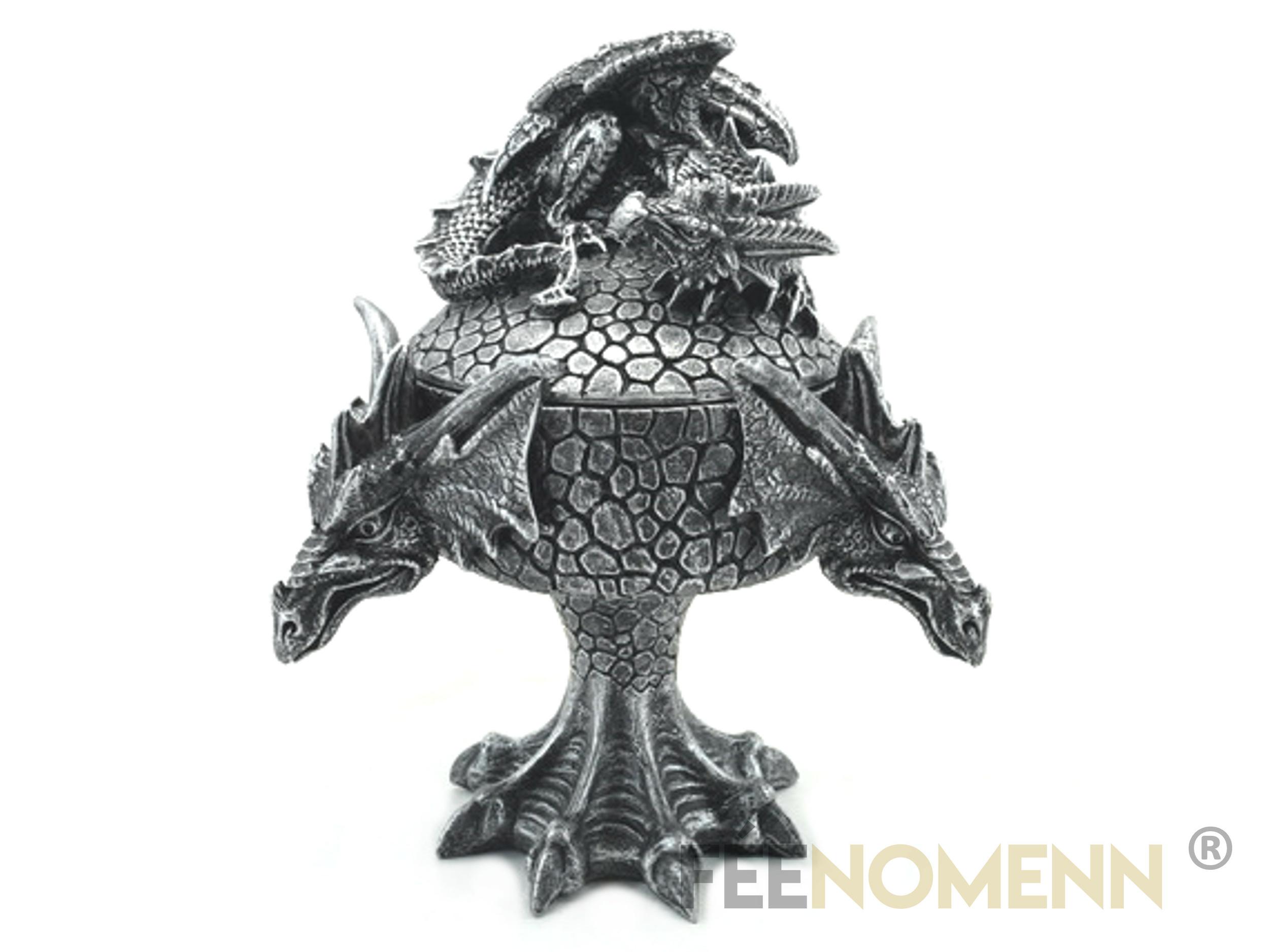 Boite à Bijoux Dragon (H16 x L12cm)