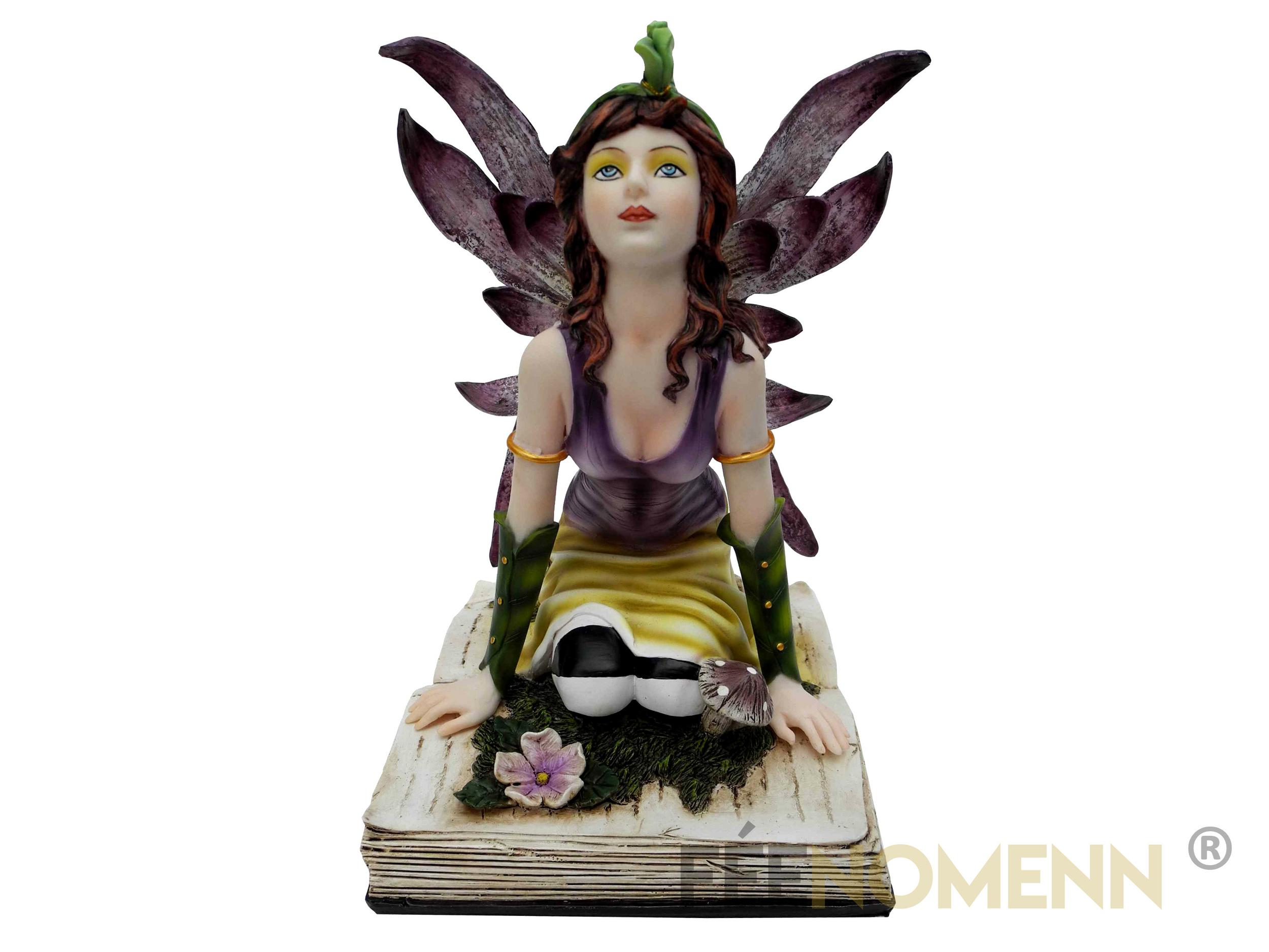 Statuette Fée Bryn (H20 x L15cm)