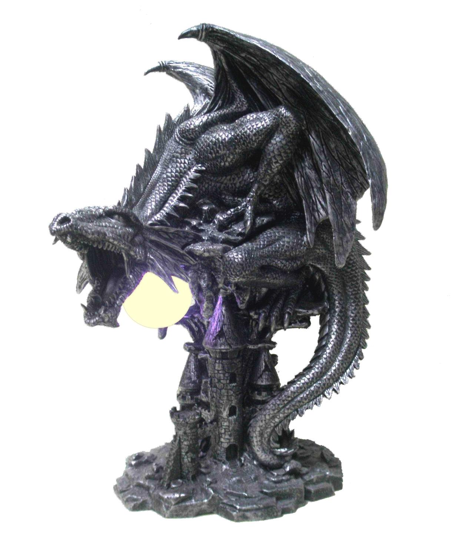 Lampe Dragon Tégavan (H32 x L25cm)