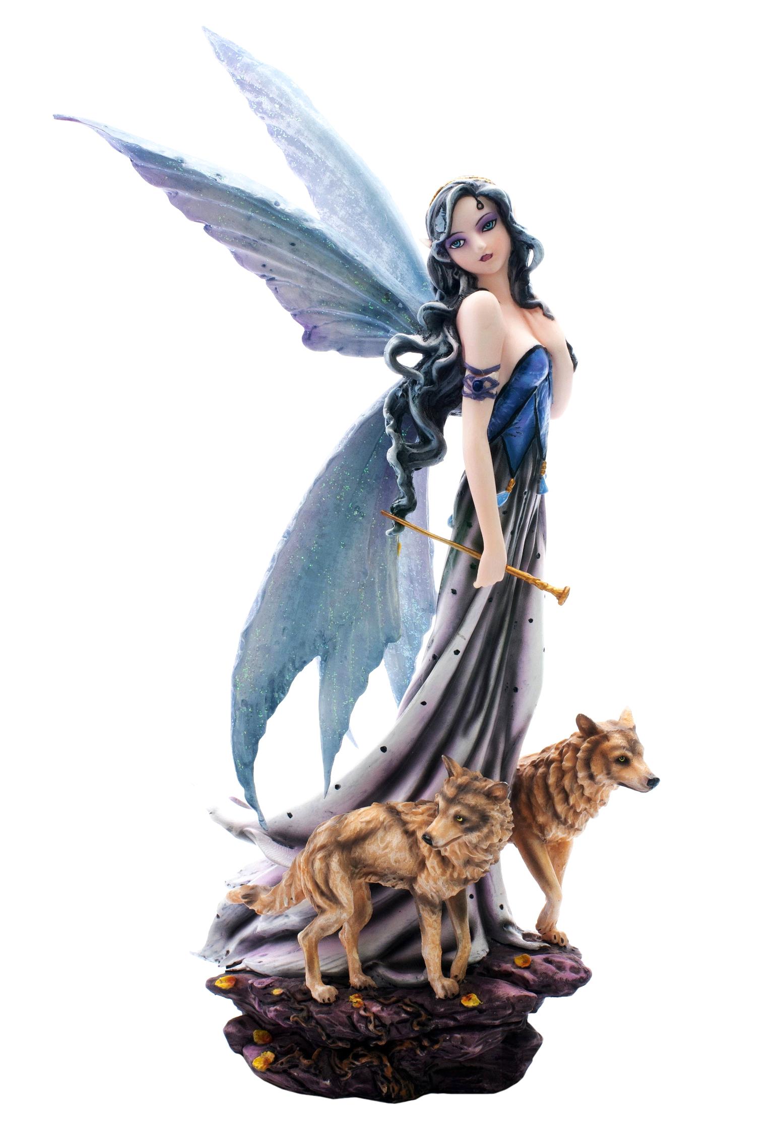 Statuette Fée Paula (H27 x L17cm)