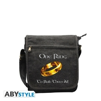 "LORD OF THE RING - Sac Besace ""Anneau"" Petit Format"
