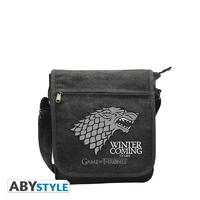 "GAME OF THRONES - Sac Besace ""Stark"" Petit Format"